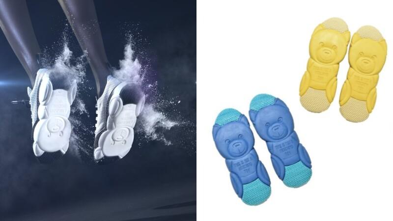 泰迪熊藏在鞋底!Moschino熱賣款熊熊跑步鞋再推粉嫩4色,七夕情人節當天開賣
