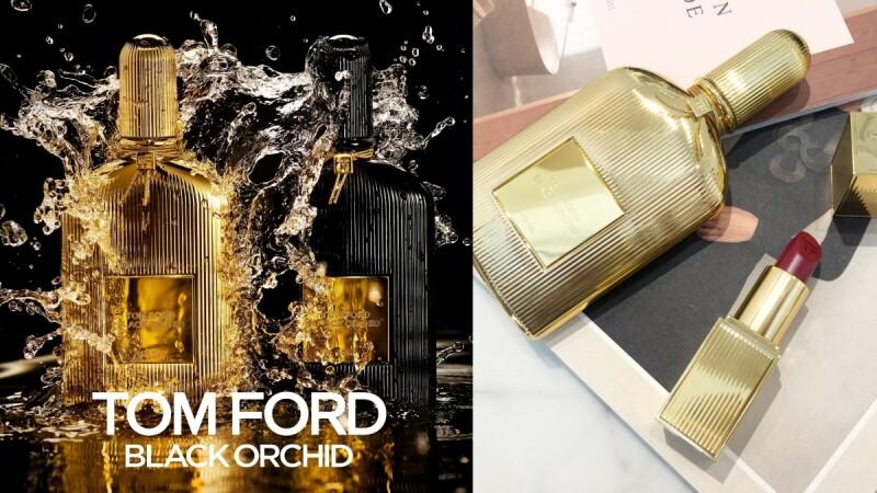 TOM FORD經典黑蘭花香水2020年推出金色深邃版,香精濃度更狂野撩人,還有同款限量唇膏