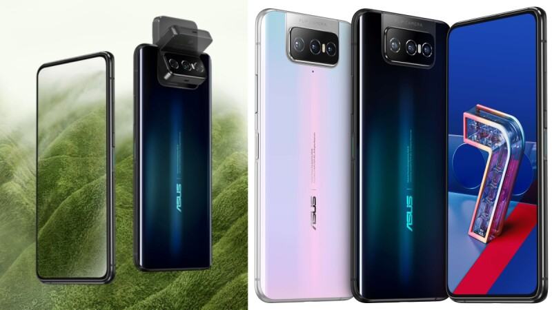 華碩全新5G手機ASUS ZenFone 7來了!180度翻轉三鏡頭、絕美漸層色,5大亮點成出門拍照必備手機