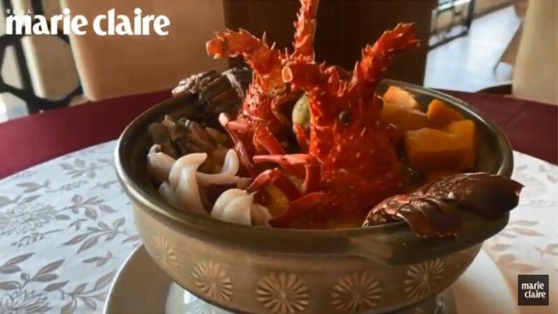 滿滿新鮮海味逼人流口水!澎湖福朋喜來登酒店端霸氣龍蝦粥、龍膽石斑、現煮牛肉湯,保證讓吃貨、老饕大滿足!