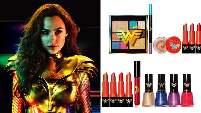 2020最吸睛聯名彩妝!露華濃 X 神力女超人1984系列,滿額贈送的神盾鏡連蓋兒加朵都愛用