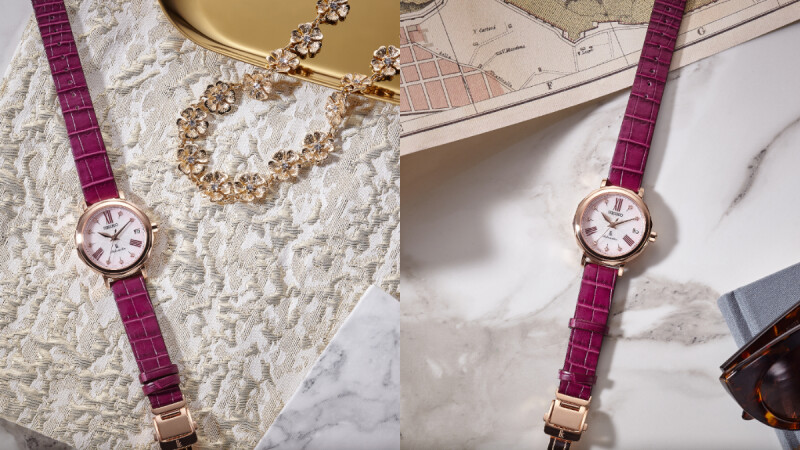 Seiko Lukia 25周年全新設計錶款也太仙!絕美櫻色詮釋百變銀座的迷人魅力,外加自帶華麗夢幻氛圍,讓人好想立刻擁有!