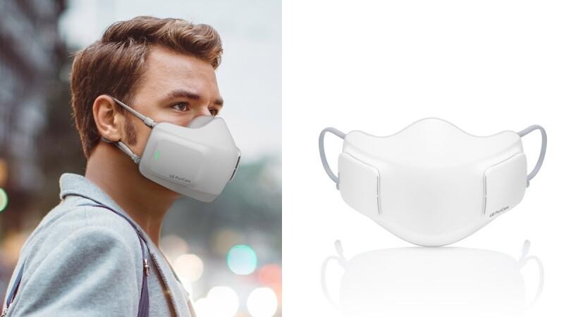 LG「口罩型空氣清淨機」即將問世!內建濾網與風扇、可用長達8小時,隨時享有乾淨空氣