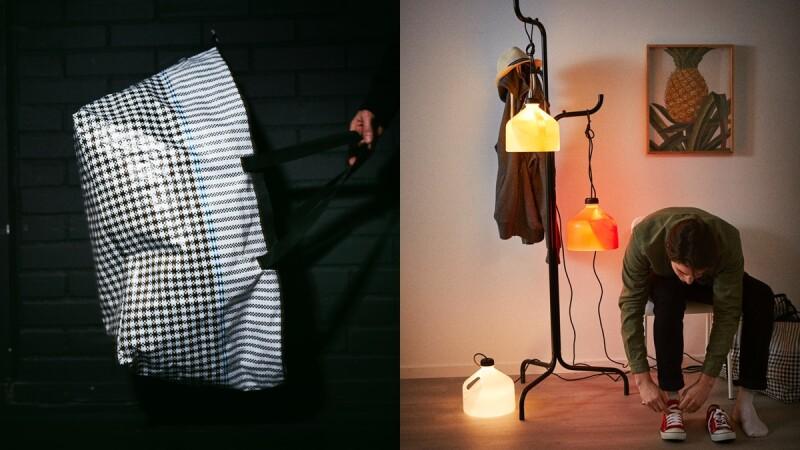 IKEA首度聯名泰國潮牌Greyhound Original推街頭風家居系列!千鳥格紋購物袋、三角靠枕、衛衣椅套,讓房間一秒變潮