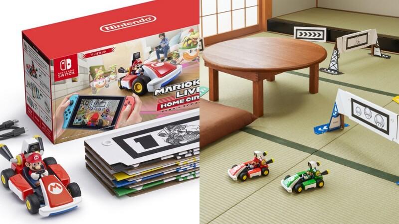 客廳就是賽道!任天堂推AR瑪利歐賽車LIVE家庭賽車場,結合遙控車與電玩的實境競速體驗