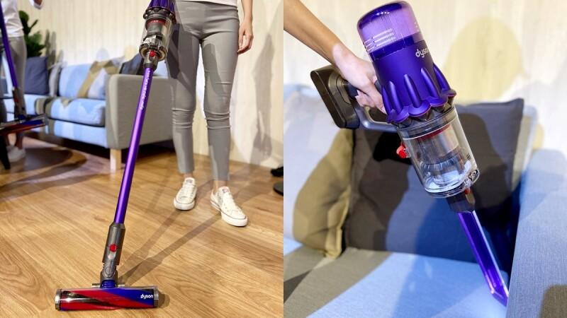 史上最輕Dyson吸塵器來了!重量少30%、專為亞洲人身形設計,隨時都能輕巧打掃
