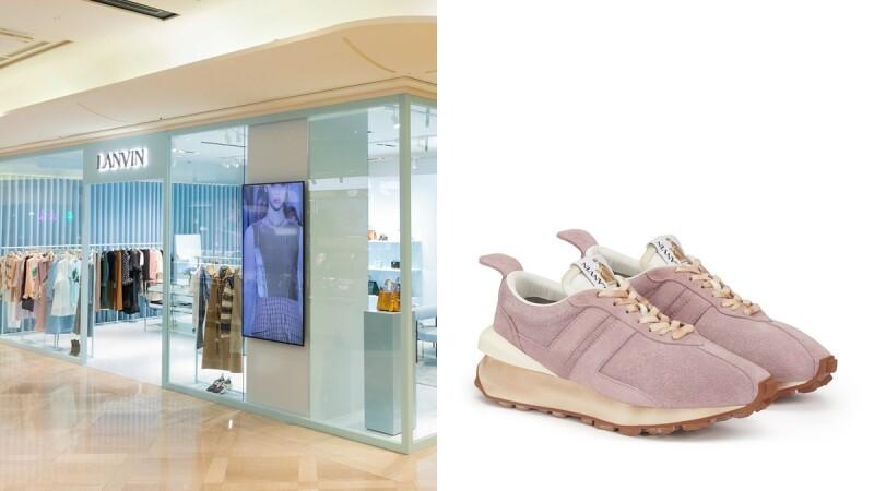 整間店都是夢幻寶寶藍!Lanvin全台首間快閃店這處登場,獨家開賣玫瑰粉Bumper運動鞋