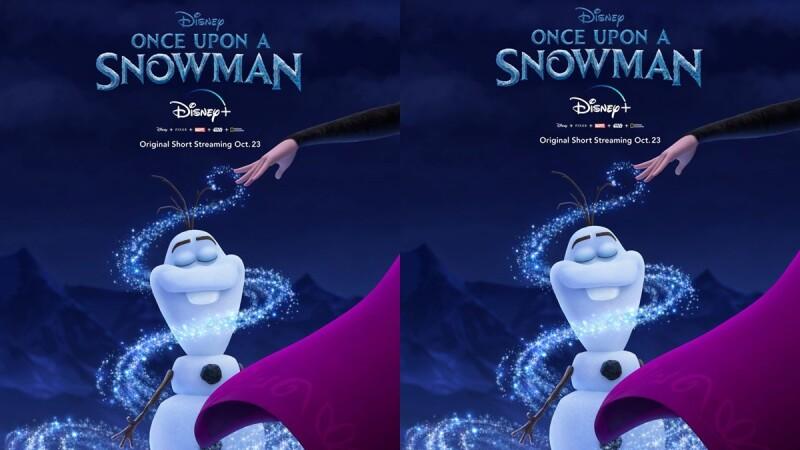 雪寶要有個人動畫短片啦!迪士尼將推出《Once Upon A Snowman》,揭開療癒雪寶的起源故事