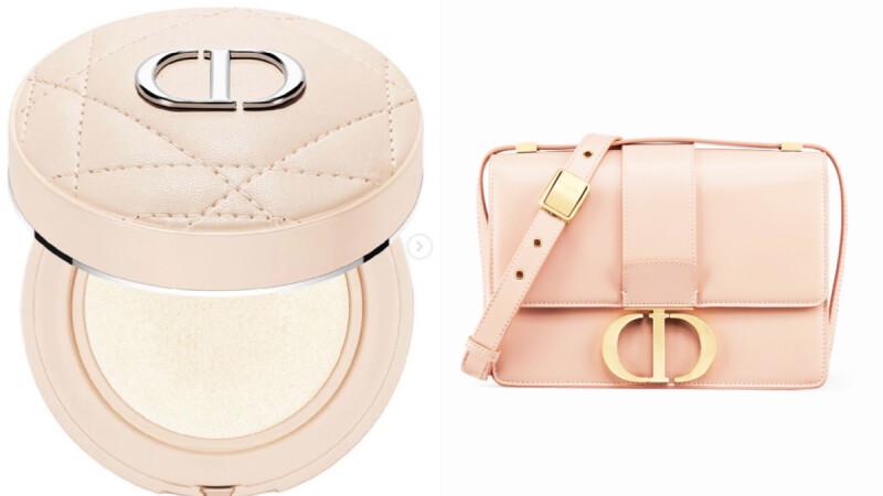 Dior 2021重量級新品悄悄曝光…奶茶粉色氣墊美暈了!結合Montaigne手袋完美配對