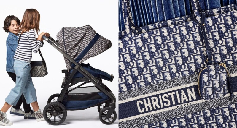 嬰兒界年度夢幻逸品!Baby Dior x Inglesina Baby打造最拉風「老花嬰兒車」