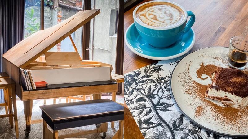 隱藏版劇場咖啡廳!台中Manni Cafe很多咖啡重現紐約百老匯風格,結合了展演與咖啡餐酒,必吃美味司康