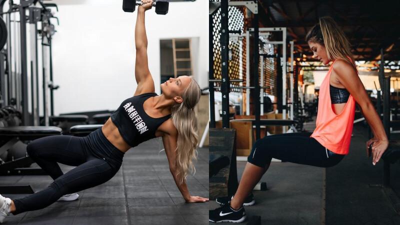 1組動作可以瘦手臂、練馬甲線和翹臀,一舉三得絕對要練!
