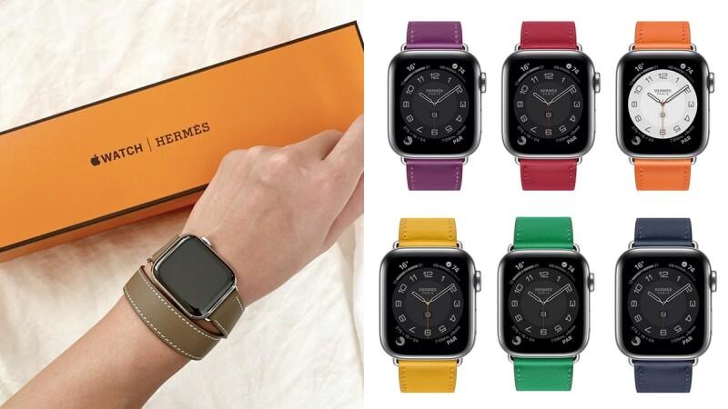 蘋果Apple Watch Hermès第六代來了,愛馬仕新款、新色、價格、開賣時間本篇一次看