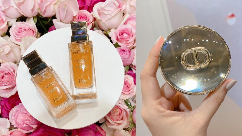 Dior 2020最新「小粉紅精華」玫瑰微導精露,好用到讓Selina用掉10罐空瓶!同系列氣墊也升級