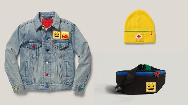 呼叫樂高迷!Levi's聯手Lego打造丹寧外套、牛仔褲、腰包、毛帽...又萌又實穿的聯名系列