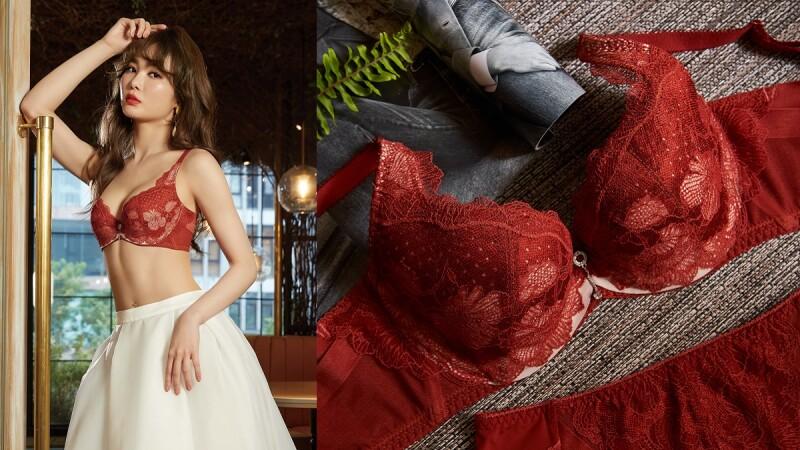 只有穿上它才能體會真正的自由與美麗!曼黛瑪璉雙弧系列十周年新作內衣,太值得每個女生人手N套帶回家!