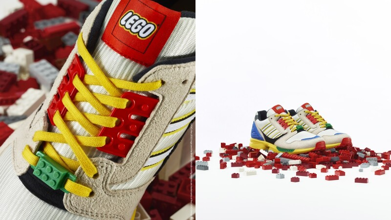 把鞋盒變成樂高積木!adidas Originals攜手LEGO打造ZX8000聯名球鞋,這3處設計細節你發現了嗎