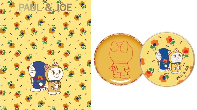 哆啦A夢50週年!PAUL & JOE再推聯名系列,這次連哆啦美都加入,護唇膏還是她最愛的哈密瓜麵包口味