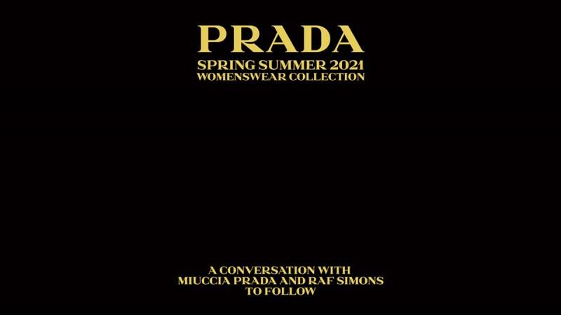 2021春夏米蘭時裝週|Prada時裝秀直播線上看!將在9/24晚上8點登場