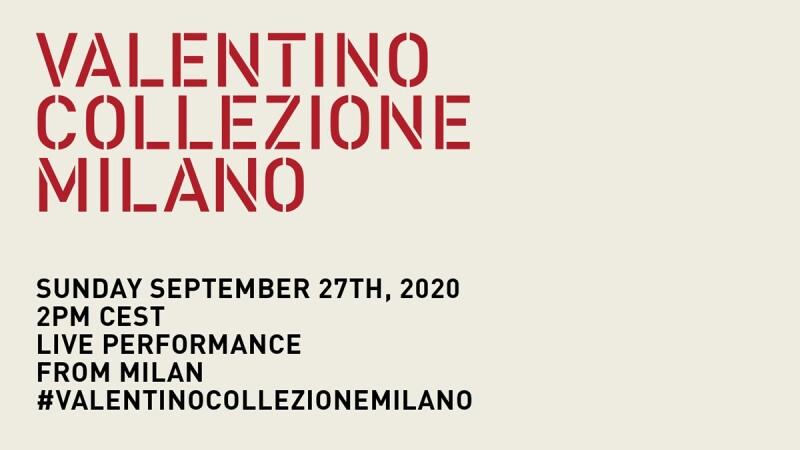 2021春夏米蘭時裝週|Valentino時裝秀直播線上看!將在9/27晚上8點登場
