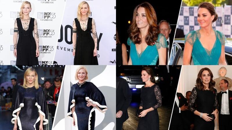 永續時尚模範生!凱特王妃與凱特布蘭琪「舊衣新穿」造型回顧,教你用態度稱霸紅毯