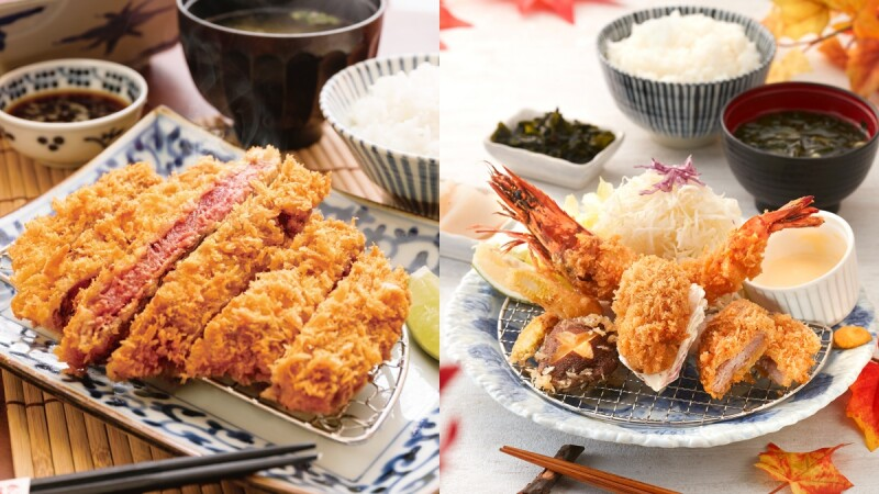太誘人!銀座杏子日式豬排推軟殼蝦盛合、日本當紅炸牛排秋季新品,品嚐蝦中之王不用剝殼大口享用