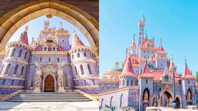 【2020東京迪士尼】「美女與野獸」園區9/28正式開幕!粉紅夢幻城堡、全新遊樂設施、室內劇院、童話造景全公開