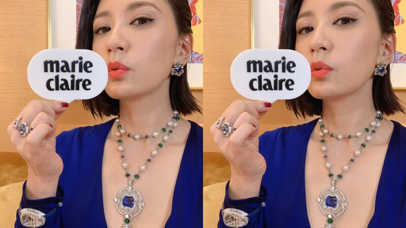 現身寶格麗Bulgari活動,賈靜雯:我應該是一顆5克拉鑽石,份量夠又給人很純粹的感覺。