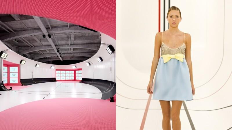 2021春夏巴黎時裝週|與潤娥一同看秀!Miu Miu 2021春夏系列把秀場打造成運動殿堂