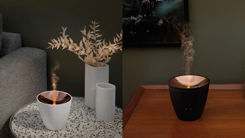 秋冬最療癒室友!瑞士家電Stadler Form推出「燭光水氧機」,玫瑰金鏡面、琥珀色暖光、簡約摩登線條,一秒提升居家品味