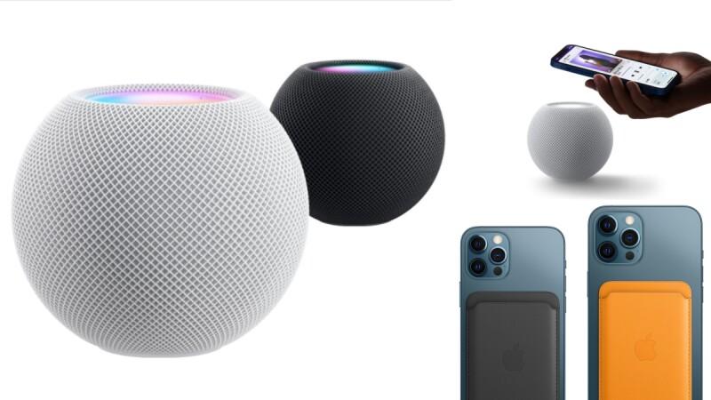 蘋果全新HomePod mini登場!圓形迷你款外型、360度音感⋯竟是佛心價,同步推出無線充電配件MagSafe