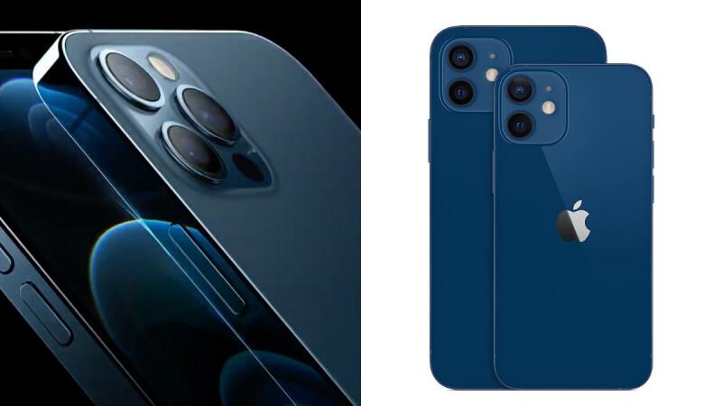 iPhone 12系列終於來了!史上第一支5G蘋果手機,新色海軍藍絕美現身