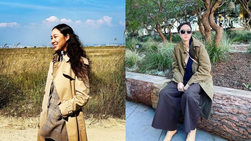 女人衣櫃必備的Burberry風衣孔曉振也換上!這5套風衣穿搭讓你秋冬外出不再沒靈感