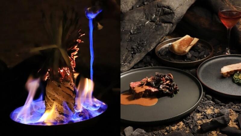 「全台最會玩火的男人」下台南了!客座台南晶英酒店推全新菜單、桌邊「玩火」…視覺、味覺大驚艷