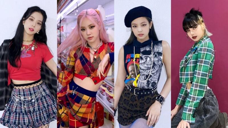 Blackpink全新主打曲《Lovesick Girls》,四位成員的服裝造型重點你筆記了嗎?