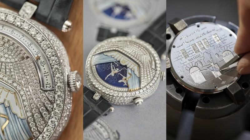 最仙的手錶!Van Cleef & Arpels新錶為何以芭蕾為主題?手錶如何化身音樂盒?本篇為你解答