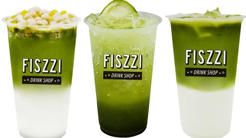 抹茶季來了!FISZZI費滋氣泡飲專賣店推3款抹茶系列飲品,搭配小芋圓QQ口感超療癒