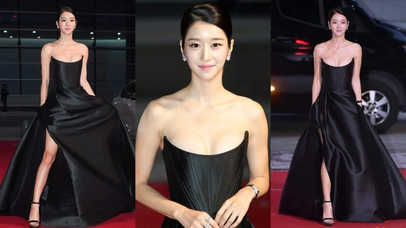 徐睿知 真人版娜美是妳?!2020「釜日電影獎」鉛筆腿、超兇雙峰,驚人身材搶下所有焦點!