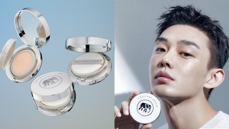香緹卡終於推出氣墊粉餅!韓國找來影帝劉亞仁代言,再加碼協助保育野生大象