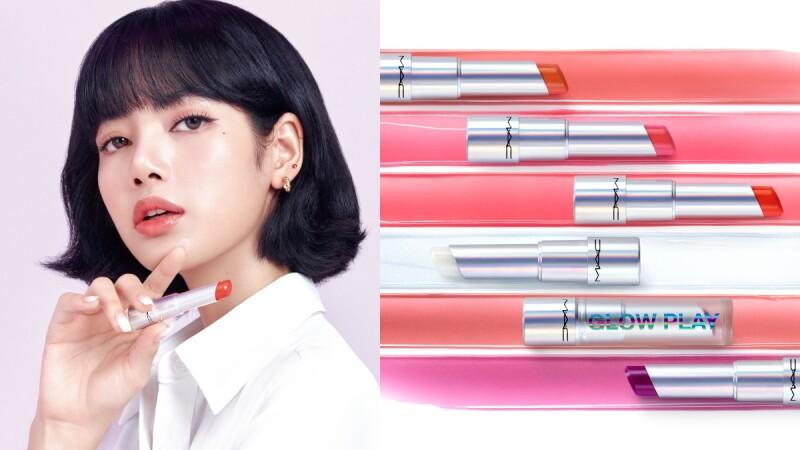 「人間芭比」LISA代言M.A.C後第一個新品水漾果凍潤唇膏,保養、修護、潤色一次完成的果凍唇膏