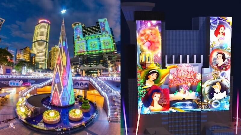 2020新北耶誕城有10大迪士尼經典童話!打造「全台唯一迪士尼光雕投影秀」、48座藝術燈區等完整打卡點總整理