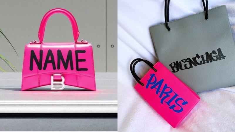 錯過不知要再等到何時!Balenciaga特選包塗鴉服務,將你的名字大膽寫上包包
