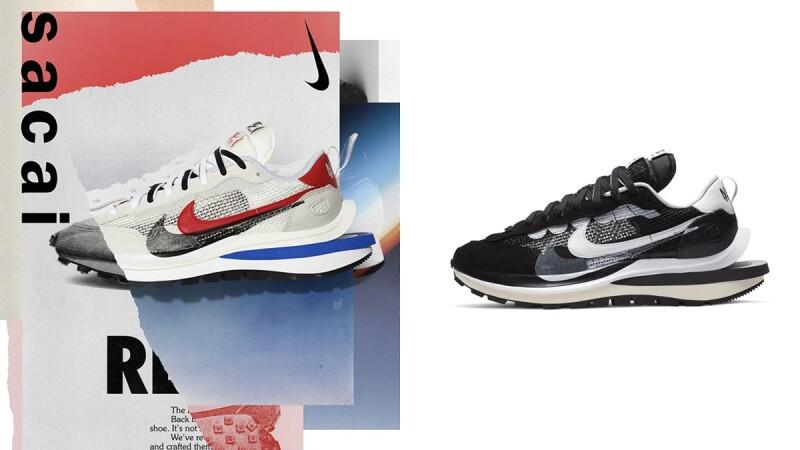 台灣即將開賣!Nike X Sacai VaporWaffle聯名球鞋亮點、配色、售價一次看