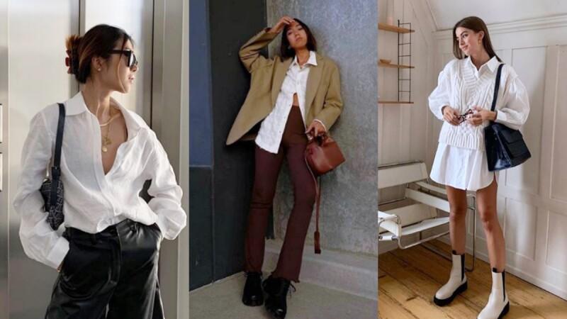 出屏率最高的5大襯衫穿搭法則,輕鬆抓住歐美女性的魅力所在!
