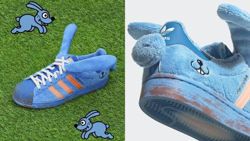套上兔耳朵!adidas Originals再為經典球鞋Superstar換上可愛萌趣新衣
