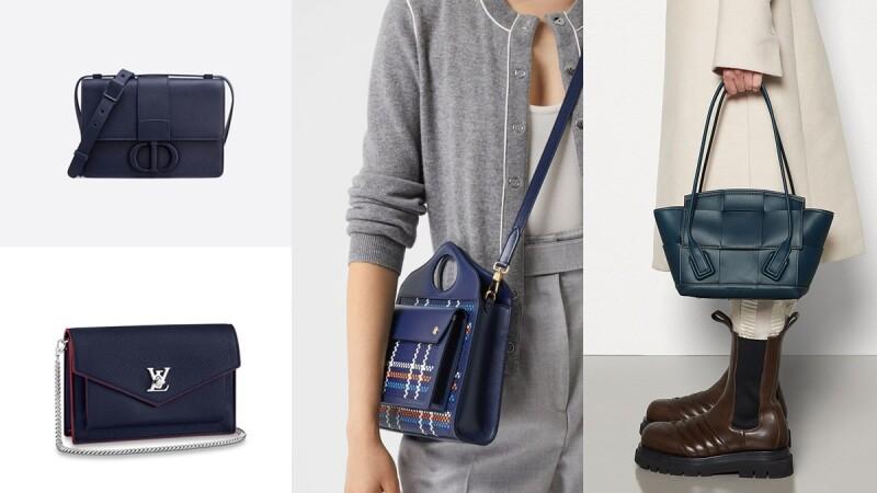 2020包包推薦絕美海軍藍!Chanel 19包、BV編織提袋、Burberry口袋包…盤點7款美暈包