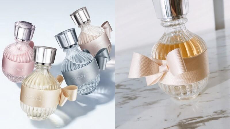 黛珂2020和服之戀系列香水,瓶身綁上十二單蝴蝶結太優雅,春夏秋冬都有專屬味道