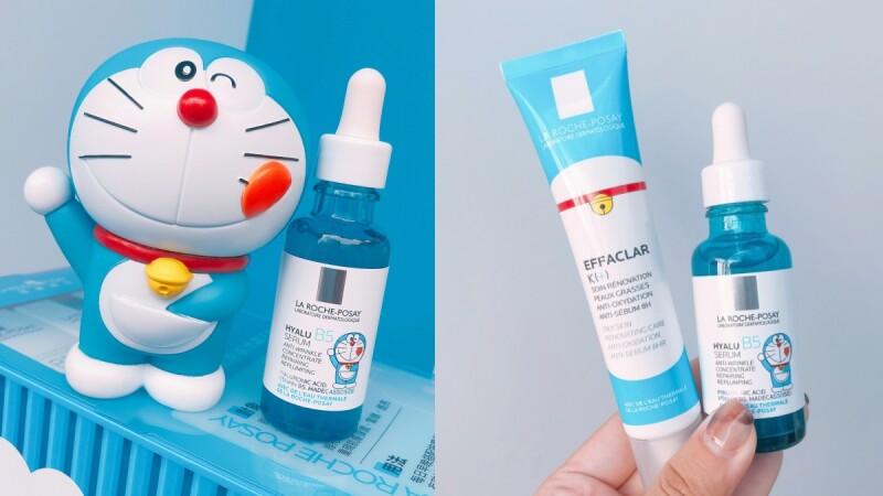 慶祝哆啦A夢50歲!理膚寶水、KISSME花漾美姬、專科推出DORAEMON限定包裝,連雪肌粹都有聯名贈品