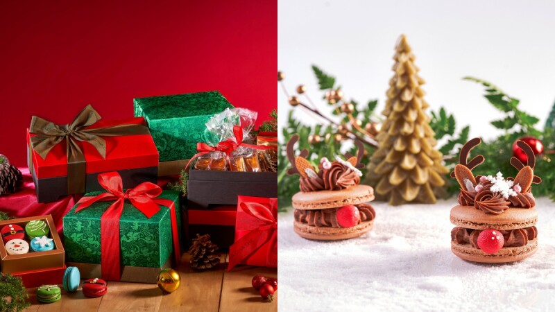 聖誕限定!采采食茶推麋鹿馬卡龍、聖誕禮盒,一起度過美好甜蜜的冬季吧