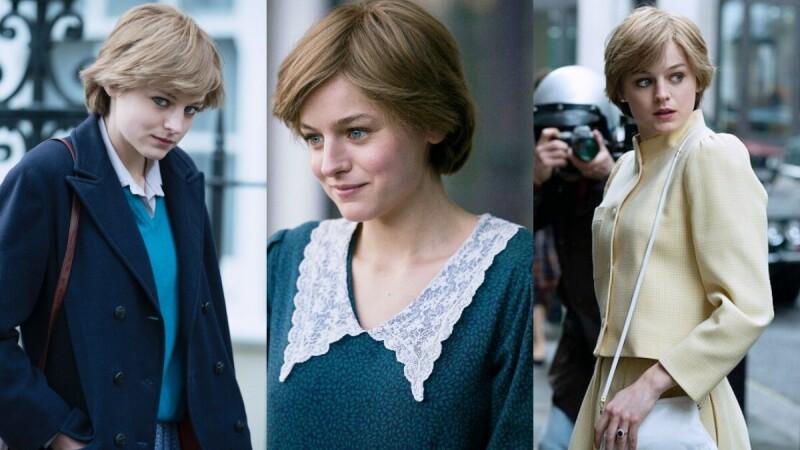 秋冬這樣穿!跟著《王冠》Emma Corrin穿出英式學院風,朝著黛安娜王妃更邁進一步